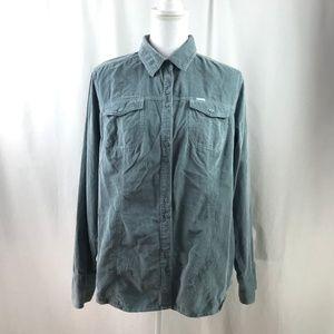 Columbia Long-Sleeve Corduroy Button-Down Shirt
